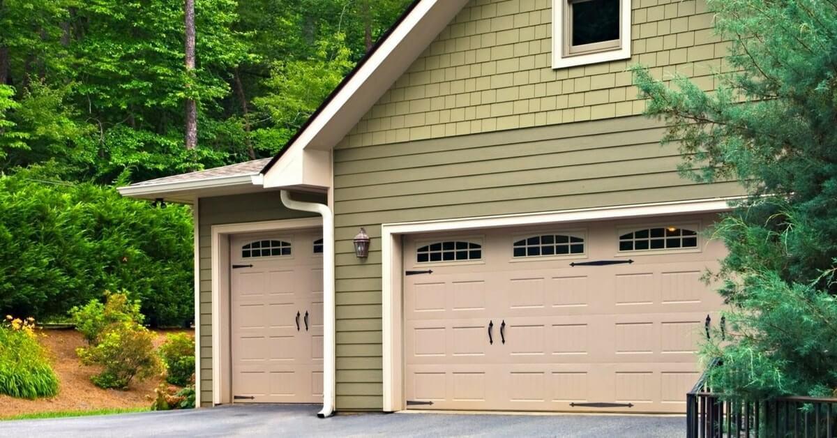Side Hinged Garage Doors - Steel or Timber Side Hinged Garage Doors