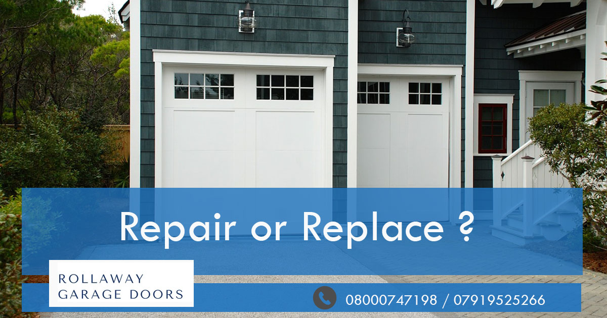 How Much Does It Cost To Repair Or Replace A Garage Door