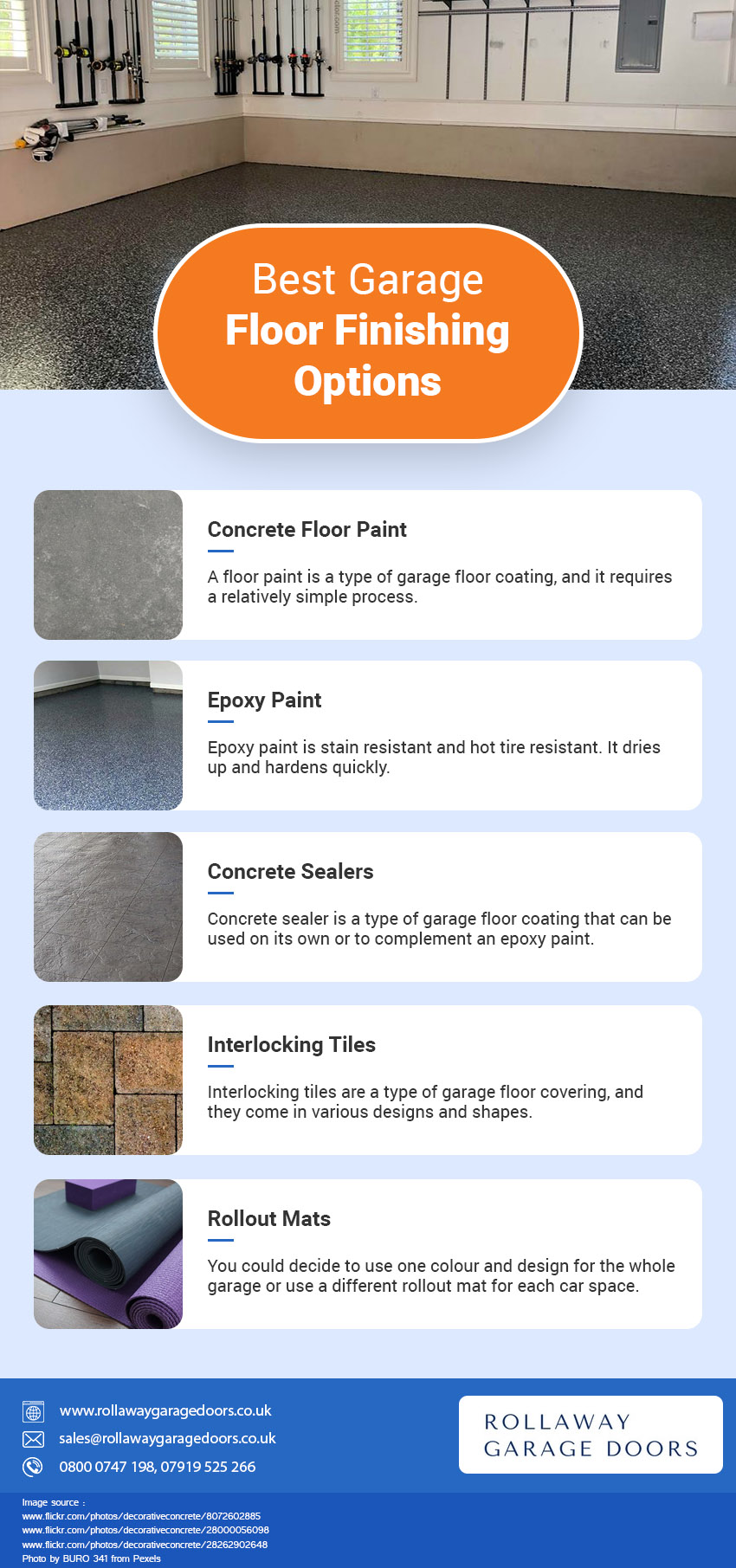 5 Best Garage Floor Finishing Options And Ideas
