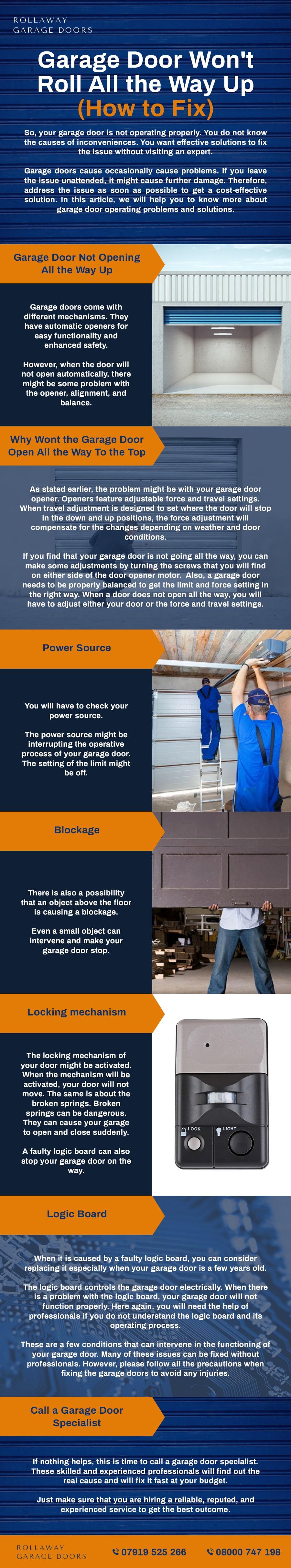 garage door fixes